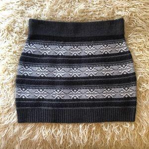 Xhilaration Sweater Skirt